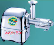 Angel juicer 5500 series Angelia 5500 from Angel juicer company manufacturing super angel angel juicer and angelia